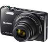 Specification of Panasonic Lumix DMC-GF8 rival: Nikon Coolpix S7000.