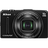 Specification of Canon PowerShot SX60 HS rival: Nikon Coolpix S9700.