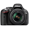 Specification of Sony Alpha 7 rival: Nikon D5200.