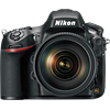 Specification of Sony Alpha 7R rival: Nikon D800.