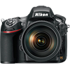 Specification of Sony Alpha 7R rival: Nikon D800E.