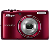 Specification of Casio Exilim EX-ZR1000 rival: Nikon Coolpix L26.