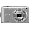 Specification of Casio Exilim EX-ZR1000 rival: Nikon Coolpix S3300.