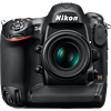 Nikon D4 tech specs and cost.