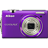 Specification of Olympus PEN E-P2 rival: Nikon Coolpix S5100.