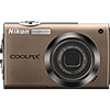 Specification of Pentax 645D rival: Nikon Coolpix S4000.