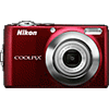 Specification of Pentax 645D rival: Nikon Coolpix L22.