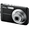 Specification of Pentax 645D rival: Nikon Coolpix S210.
