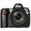 Nikon D70 tech specs and cost.