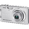 Specification of Olympus PEN E-P2 rival: Casio Exilim EX-Z280.