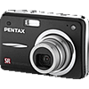 Specification of Samsung ST45 rival: Pentax Optio A40.