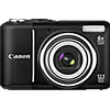 Specification of Olympus PEN E-P2 rival: Canon PowerShot A2100 IS.