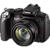 Specification of Pentax 645D rival: Canon PowerShot SX10 IS.