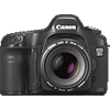 Canon EOS 5D tech specs and cost.
