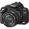 Specification of Canon EOS-1D Mark II N rival: Canon EOS 350D (EOS Digital Rebel XT / EOS Kiss Digital N).