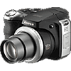 Specification of Pentax 645D rival: Fujifilm FinePix S8100fd.