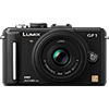 Specification of Canon PowerShot SX130 IS rival: Panasonic Lumix DMC-GF1.