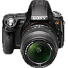 Specification of Pentax 645D rival: Sony SLT-A55.