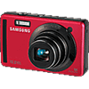 Specification of Canon PowerShot SX130 IS rival: Samsung SL720 (PL70).