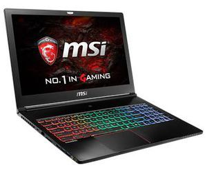 MSI GS63VR Stealth Pro-034 tech specs and cost.