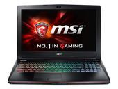MSI GE62 Apache Pro-233 tech specs and cost.