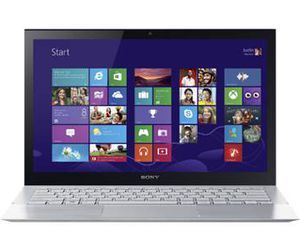 Specification of ASUS ZenBook Flip UX360CA DBM2T rival: Sony VAIO Pro SVP1321DCXS.