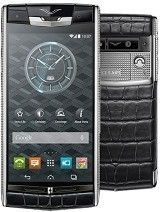 Specification of Philips I908 rival: Vertu Signature Touch.