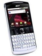 Specification of BlackBerry Curve 8980 rival: Acer beTouch E210.