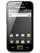 Specification of BlackBerry Porsche Design P'9981  rival: Samsung Galaxy Ace S5830I.