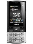 Specification of BlackBerry Curve 8980 rival: Philips X332.