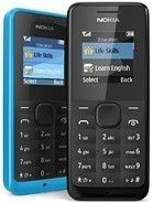 Nokia 105 tech specs and cost.