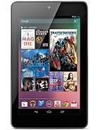 Asus  Google Nexus 7 Cellular specs and prices.