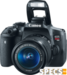 Canon EOS Rebel T6i price and images.