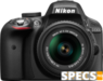 Nikon D3300 price and images.
