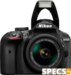 Nikon D3400 price and images.