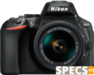 Nikon D5600 price and images.