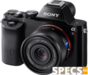 Sony Alpha 7R price and images.