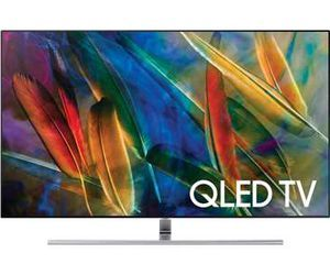 "Samsung QN65Q7FAMF Q Series 64.5"" viewable tech specs and cost."