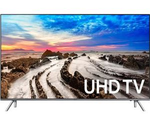 "Specification of LG OLED55E7P rival: Samsung UN55MU8000F 8 Series 54.5"" viewable."