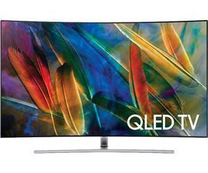 "Samsung QN65Q7CAMF Q Series 64.5"" viewable tech specs and cost."