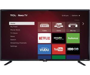 "TCL Roku TV 40FS3750 40"" Class LED TV 39.5"" viewable tech specs and cost."