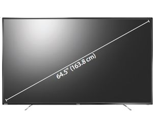 "Toshiba 65L621U 65"" Class LED TV 64.5"" viewable tech specs and cost."