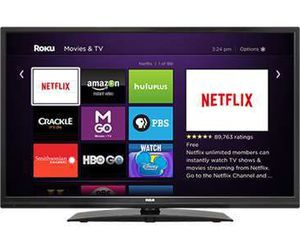 "Specification of Toshiba 32L310U18  rival: RCA Roku TV LRK32G30RQ 32"" Class LED TV 31.5"" viewable."