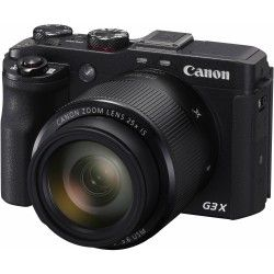 Specification of Canon PowerShot G7 X Mark II rival: Canon PowerShot G3 X.