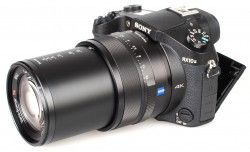 Specification of Panasonic Lumix DMC-ZS100  rival: Sony Cyber-shot DSC-RX10 II.