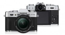 Specification of Panasonic Lumix DMC-GF8 rival: Fujifilm X-T10.